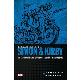TIMELY'S GREATEST: SIMON & KIRBY 1