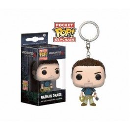 UNCHARTED - POP FUNKO VINYL KEYCHAIN NATHAN DRAKE 4CM