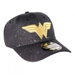 WONDER WOMAN - CP002 - ADJUSTABLE CAP GOLD LOGO