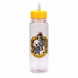 WTRBHP08 - HARRY POTTER - WATER BOTTLE (PLASTIC 700ML) -HARRY POTTER (HUFFLEPUFF)