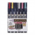 14505 - GUNDAM MARKER GMS-110 - SET DI 6 COLORI FINE EDGE (GM 46-47-48-49-50-51)