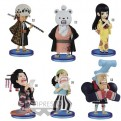 16151 - ONE PIECE - WORLD COLLECTABLE FIGURE - WANO COUNTRY VOL.2 - SET 72PZ 7CM