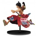 16308 - ONE PIECE - BATTLE RECORD COLLECTION - MONKEY D. LUFFY BANPRESTO FIGURE 14CM