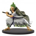 16526 - ONE PIECE - THE KING OF ARTIST - WANOKUNI RORONOA ZORO - STATUA 14CM