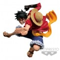 16559 - ONE PIECE - SCULTURES BIG ZOUKEIO 6 VOL.3 - MONKEY D. LUFFY - BANPRESTO STATUA 8CM