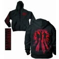 30896L - WALKING DEAD SURVIVE SILHOUETTE ZIP HOOD L