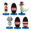 39754 - ONE PIECE STAMPEDE - WORLD COLLECTABLE FIGURE VOL. 3 - SET 28PZ 7CM