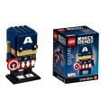 41589 - BRICKHEADZ - CAPTAIN AMERICA
