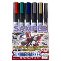 43042 - GUNDAM MARKER GMS-121 METALLIC SET