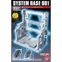 43539 - SYSTEM BASE 001 WHITE DISPLAY STAND PER GUNDAM