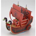 44827 - ONE PIECE - GRAND SHIP COLLECTION 06 - NINE SNAKE SHIP - 13 CM