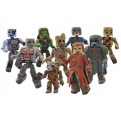 45642 - MARVEL MINIMATES S.57 GUARDIAN OF THE GALAXY (12 PEZZI)