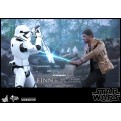 48574 - STAR WARS EPISODE VII - FINN AND FIRST ORDER RIOT STORMTROOPER - 12' FIGURE HOT TOYS