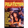 55583 - PULP FICTION - ONE SHEET TIN SIGN