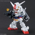 60585 - SD CROSS SILHOUETTE SET RX-78-2 & CRS FRAME