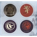 6201 - GAME OF THRONES - PINS SET - A