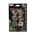 62045 - MARVEL HEROCLIX: SECRET WARS BATTLEWORLD DICE & TOKEN