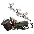 66458 - NIGHTMARE BEFORE CHRISTMAS - JACK IN SLEIGH DLX SET - 20CM