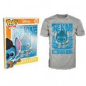 6767 - T-SHIRT - POP TEES 12 - ELVIS STITCH - XL