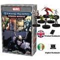 68664 - MARVEL STRIKE TEAMS AVENGERS INITIATIVE - A HEROCLIX STRATEGY GAME