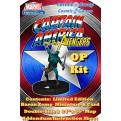 68983 - MARVEL HEROCLIX: CAPITAN AMERICA & THE AVENGERS OP KIT