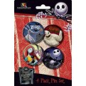 7322 - NIGHTMARE BEFORE CHRISTMAS - SET DI SPILLE (4 PZ)