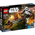75532 - LEGO STAR WARS ACTION FIGURE - SCOUT TROOPER E SPEEDER BIKE