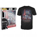 7883 - T-SHIRT - POP TEES 44 - STAR WARS TFA POSTER - M