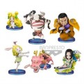 82624 - ONE PIECE - WCF ORIENTAL ZODIAC VOL.1 - 6 PERSONAGGI - 28PZ 6CM