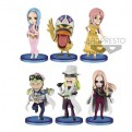 85142 - ONE PIECE - WORLD COLLECTABLE FIGURE - LEVELY - SET 28PZ