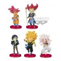 85149 - DRAGON BALL SUPER HEROES - WORLD COLLECTABLE FIGURE VOL. 6 - SET 28PZ 7CM