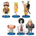 85622 - ONE PIECE STAMPEDE - WORLD COLLECTABLE FIGURE VOL. 1 -  SET 28PZ 7CM