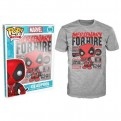 8571 - T-SHIRT - POP TEES 59 - DEADPOOL MERCENARY FOR HIRE - XL