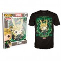 8599 - T-SHIRT - POP TEES 57 - LOKI - XL
