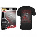 8930 - T-SHIRT - POP TEES 54 - STAR WARS KYLO REN - M