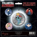 ABYACC016 - SET DI SPILLE FULLMETAL ALCHEMIST SUPER DEFORMED
