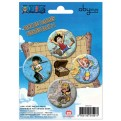ABYACC027 - SET DI SPILLE ONE PIECE - PIRATI 1