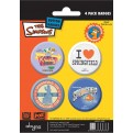 ABYACC052 - SET DI SPILLE SIMPSONS SPRINGFIELD