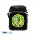 ABYBAG299 - RICK AND MORTY - BORSA A TRACOLLA VINILE PICCOLA PORTAL