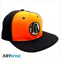 ABYCAP017 - DRAGON BALL - CAPPELLINO - BLACK & ORANGE KAME