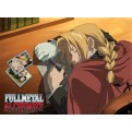 ABYDCO056 - FULL METAL ALCHEMIST - LAMINATED POSTER EDWARD SLEEPING (52X38)