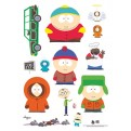 ABYDCO070 - STICKERS SOUTH PARK PERSONAGGI 1