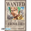 ABYDCO145 - ONE PIECE - POSTER WANTED ZORO (98x68)