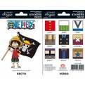 ABYDCO148 - ONE PIECE - MINI STICKERS - LUFFY SUPER DEFORMED