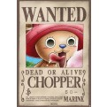 ABYDCO207 - ONE PIECE - POSTER WANTED CHOPPER 98x68