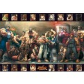 ABYDCO233 - STREET FIGHTER - LAMINATED POSTER GROUP