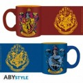 ABYMUG306 - HARRY POTTER - SET 2 MINI-MUGS 110ML - GRYFFINDOR&RAVENCLAW