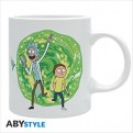 ABYMUG387 - RICK AND MORTY - TAZZA 320ML - PORTAL
