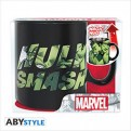 ABYMUG391 - MARVEL - TAZZA HEAT CHANGE 460ML - HULK SMASH