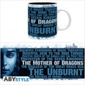 ABYMUG459 - GAME OF THRONES - TAZZA 320ML - KHALEESI
